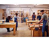 Craft, Education, Workshop, Trainee, Carpentry
