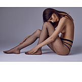 Sexy, Nude, Net Tights
