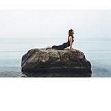 Nature, Relaxation, Meditating, Yoga