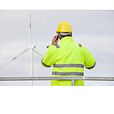Mobile Kommunikation, Telefonieren, Ingenieur
