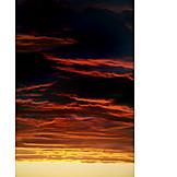 Thundercloud, Sunset, Sunset