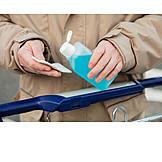 Shopping, Shopping Cart, Disinfect