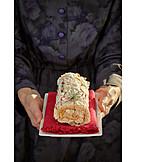 Cake, Cream Roll