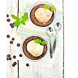 Nachtisch, Birnen-schokoladen-kuchen