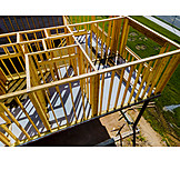 Building Construction, Beams, Timber House