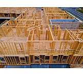 Building Construction, Timber House, Wooden Construction