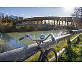 Bicycle, Bicycle Tour, Saalach