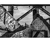 Industry, Steel Industry, Factory Building