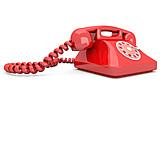 Telephone, Rotary Phone