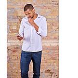 Mobile Communication, Pensive, Smart Phone