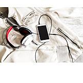 Music, Headphones, Smart Phone