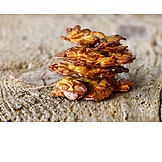Pastry Crust, Florentine, Almond Biscuits