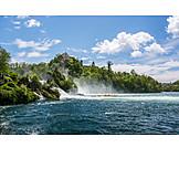 Waterfall, Rhine Falls