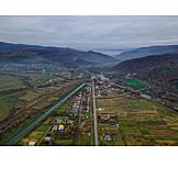 River, Fields, Cultural Landscape