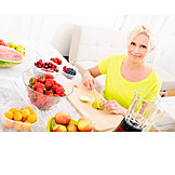 Fruit, Preparation, Smoothie