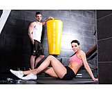 Couple, Fitness, Workout
