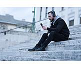 Mobile Kommunikation, Smartphone, Musik Hören