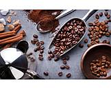 Coffee, Cinnamon, Coffee Beans