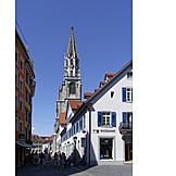 Old town, Constance, Muenster at constance