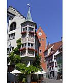 Old town, Inn, Meersburg