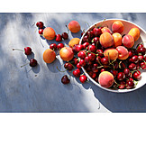Cherries, Apricots, Summer Fruits