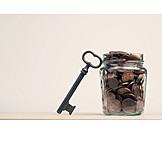 Savings, Change, Cent