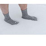 Snow, Socks, Kneipp