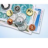 Money, Cash, German Mark