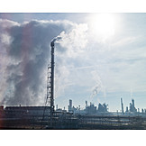 Industry, Pollution, Industrial Area