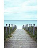 Sea, Beach Coast Path