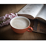 Coffee, Book, Reading