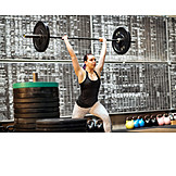 Weightlifting, Workout, Barbell