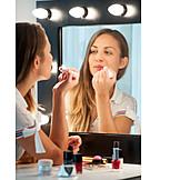Lipstick, Makeup, Vanity Mirror