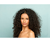 Beauty, Dark Skinned, Curly Hair