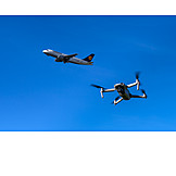 Airplane, Air Traffic, Bee