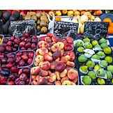 Fruit, Market Stall, Fruit Stand