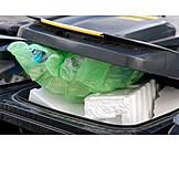 Recycling, Waste, Dustbin, Styrofoam