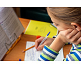 Zuhause, Bildung, Hausaufgaben, Homeschooling