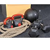 Gym, Dumbbell training