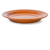 Plate, Clay, Glazed
