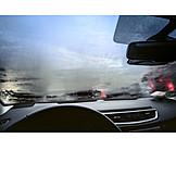 Car, Shoeing, Windshield