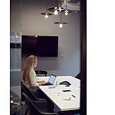 Preparation, Meeting Room, Presentation