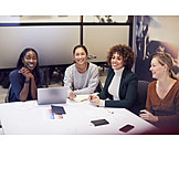 Meeting, Presentation, Girl Power, Organized Group