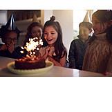 Happy, Children Birthday, Birthday Cake, Birthday Child