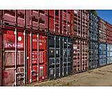 Logistics, Cargo Container, Export