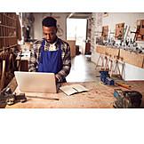 Laptop, Craftsman, Workshop, Cad