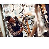 Bicycle, Workshop, Bicycle Frame