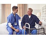 Senior, Unterstützung, Altenpflege, Assistenz, Häusliche Pflege