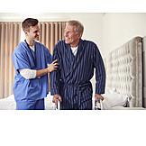 Senior, Unterstützung, Altenpfleger, Häusliche Pflege