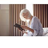 Senior, Sad, Loneliness, Photo, Memory, Widow